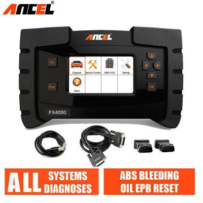 ANCEL FX4000 Full System OBD2 Diagnostic Tool ABS Bleeding Oil Service EPB Reset