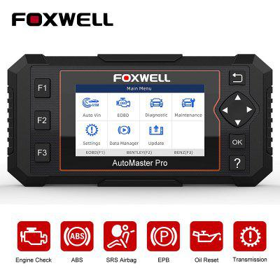 FOXWELL NT614 Elite OBD2 Car Diagnostic Tool ENG ABS SRS SAS EPB Oil Service Reset Scanner