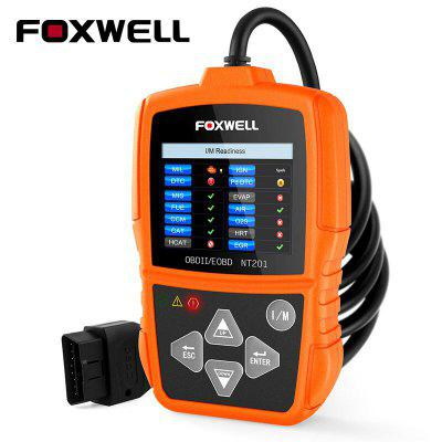 FOXWELL NT201 ODB2 Scanner Diagnostic Auto OBDII Engine Fault Code Reader Scan Tools