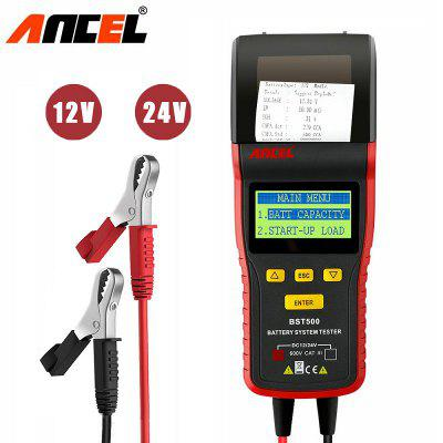 ANCEL BST500 With Printer for Heavy Duty Truck Car Battery