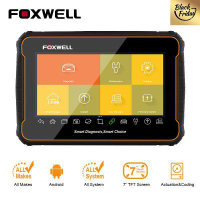 Foxwell GT60 OBD2 Professional Car Diagnostic Tool All System ABS SRS EPB DPF Oil Reset Code Reader