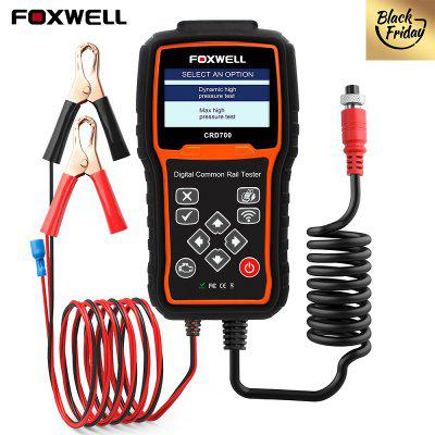 FOXWELL CRD700 Digital Common Rail Pressure Tester Check High Pressure Pump Bar Test