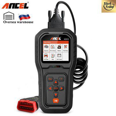 ANCEL AD510 Full OBD Modes Car Scan Tool with Battery Voltage Test