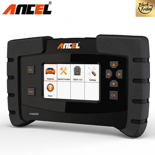 Automotive Scan Tool >> Ancel Fx6000 Professional Obd2 Car Diagnostic Tool Full Systems Automotive Scanner