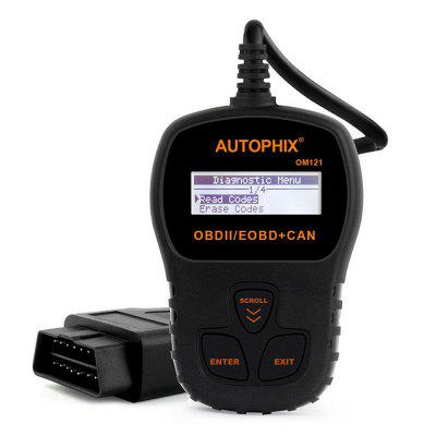 Autophix OM121 OBD2 Automotive car Scanner EOBD CAN Engine Code Reader diagnosis with Live Data
