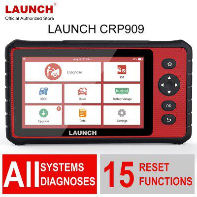 Launch X431 Full-System Diagnostic Tool CRP909 OBD2 Scanner 7inch Car Auto SRS