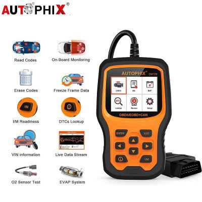 AUTOPHIX OM129 OBD2 Scanner Universal Diagnostic Tool Engine Battery Car Diagnostic Scan Tool