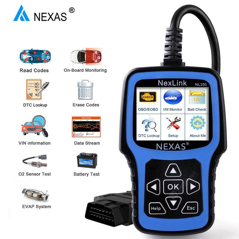 Renault Clio OBD2 Pro Car Code Scanner ABS Oil DPF Diagnostic Tool NT650