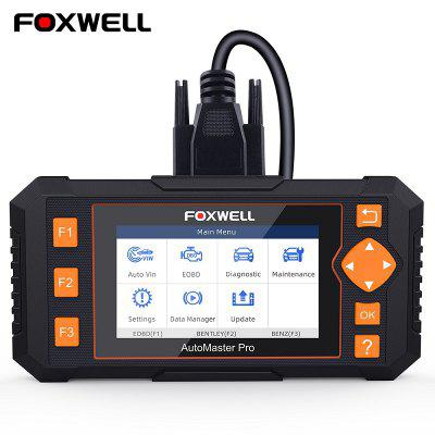 FOXWELL NT634 OBD2 Scanner Engine ABS SRS Transmission Scan Tool 11 Reset Functions Code Reader Car Diagnostic NT624 Elite upgrade version