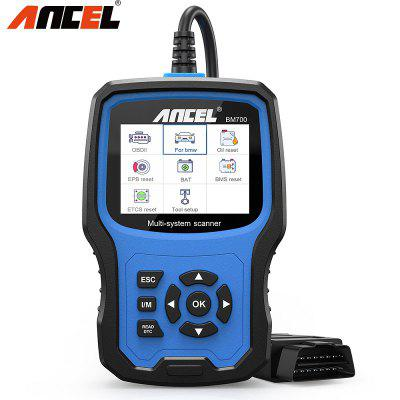 ANCEL BM700 OBD2 Automotive Scanner Full System Enhanced Car Diagnostics Auto Fault Code Reader For BMW