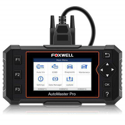FOXWELL NT614 Elite Four System OBD2 Scanner Engine Airbag ABS AT EPB Oil Reset EOBD Auto Car Diagnosis Free Update