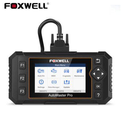 Foxwell NT644 Elite Full System OBD2 Scanner Code Reader DPF SAS Oil EPB BRT 19 Reset Service Car Diagnostic Tool