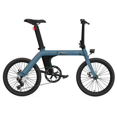 FIIDO D11 Folding Electric Moped Bicycle 20 Inches Tire 25km/h Max Speed Three Modes 11.6AH - Blue