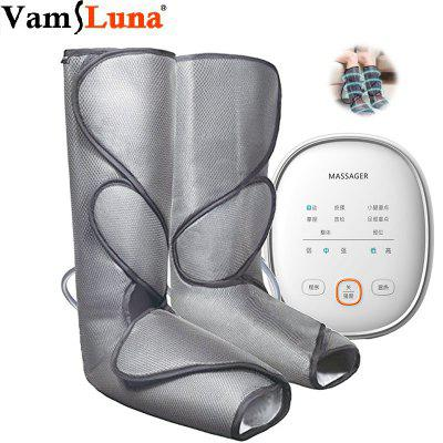 Leg Air Compression Massager Heated for Foot and Calf Circulation with Handheld Controller