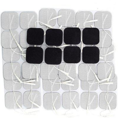 100pcs TENS Unit Electrodes Pads 4x4cm Replacement Pads Electrode Patches For Electrotherapy