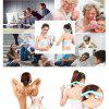 Neck Shoulder Dual Trigger Point Massager Relax Relief Tension Stress Handle