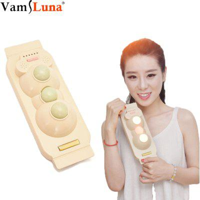Tourmaline Stone With 3 Ball Infrared Heating Body Massager For Pain Relief With Reduces Stress