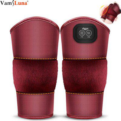 Electric Heating Knee Pads Multi-Function Massage Vibrating Knee Massager 3 Level Heat Massage