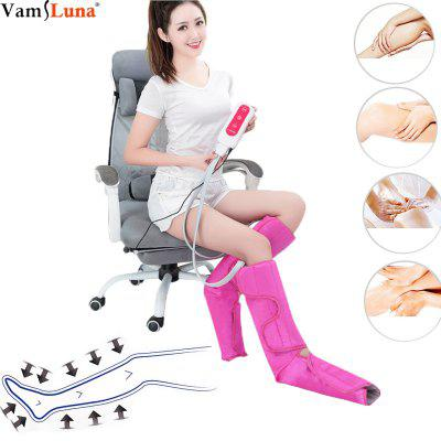 Leg Massager Air Compression- Upgrade Leg Compression Wraps for Foot and Calf Circulation