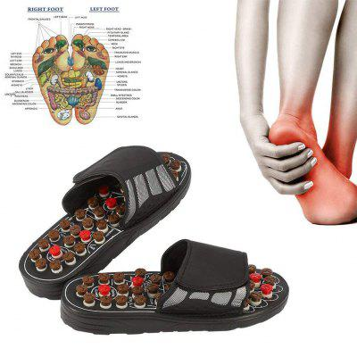 Foot Massage Slippers Acupuncture Therapy Massager Shoes For Foot Acupoint Activating Reflexology