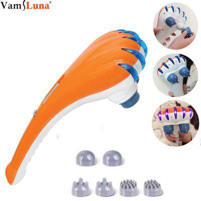 Electric Back Massager  Handheld Double Head Deep Tissue Percussion for Full Body Massage for Neck