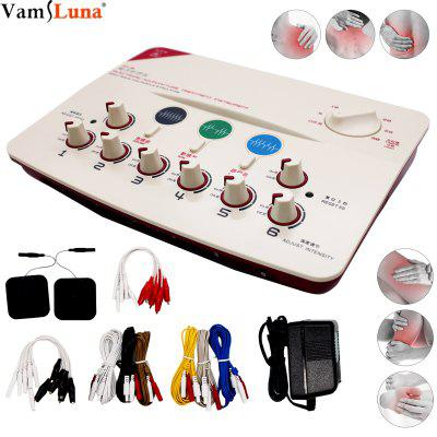 Electronic Acupuncture Instrument 6 Channels Output Massage Device Cleaning meridian