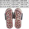 Adjustable Foot Massage Slippers Acupuncture Therapy Massager Shoes