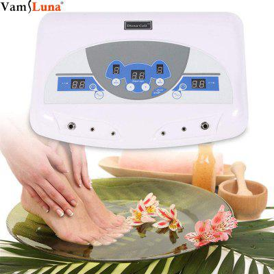 Professional Dual Ionic Detox Ion Foot Spa Bath Ion Cell Cleanse Machine