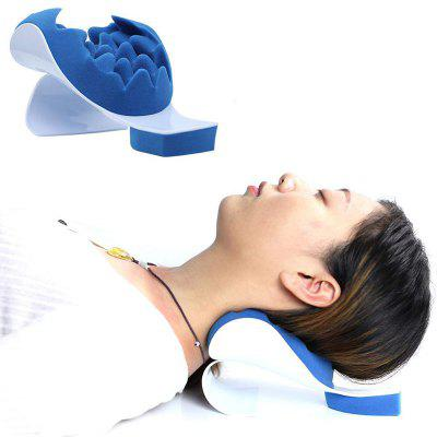 Neck Support Relaxer Shoulder Chiropractic Pillow Traction Stretcher Device Cervical Spine