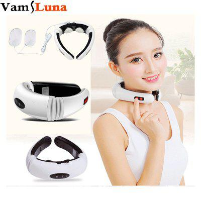 Electric Neck Massager Cervical Treatment Instrument Acupuncture Magnetic Physiotherapeutic