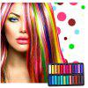Temporary 24 Colors crayons for hair Non-toxic Hair color Chalk Dye Pastels Stick DIY styling tools