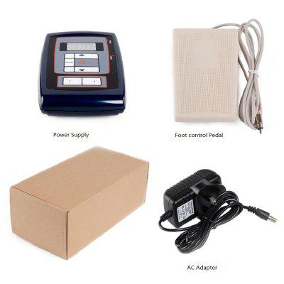 Tattoo Machine Kit - Digital Tattoo Power Supply With Foot Control Pedal and AC Adapter