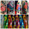 6X Colorful Henna Cone Temporary Painless Indian Tattoo Body Art For COLOUR MEHENDI DESIGNS
