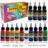 14 colors Tattoo Microblading Pigment Professional Practicing Paint for Rotary Tattoo Machine