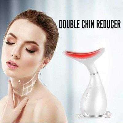 Wrinkle Remove Machine Double Chin Reducer Vibration Heating Neck Firming Skin Machine