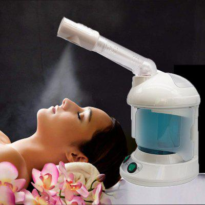 2 in 1 Ozone Facial Spray Steamer With Extendable Arm  Table Top Mini Spa Face Design