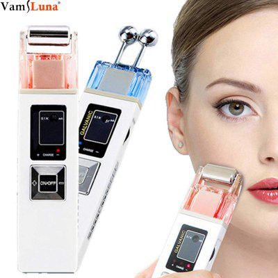 Face Cleansing Portable Galvanic Microcurrent Skin Firming Machine Anti-Aging Massager Skin Care