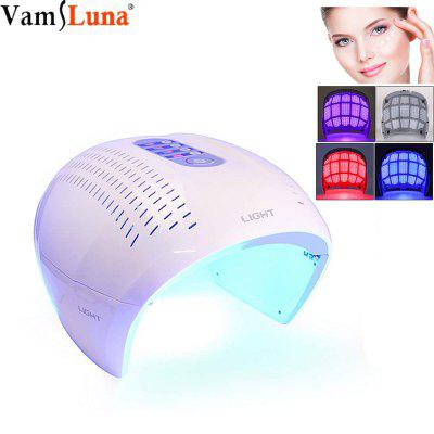 TECH 4 Color LED Color LED Face Mask Photon Red Light Therapy For Healthy Skin Rejuvenation