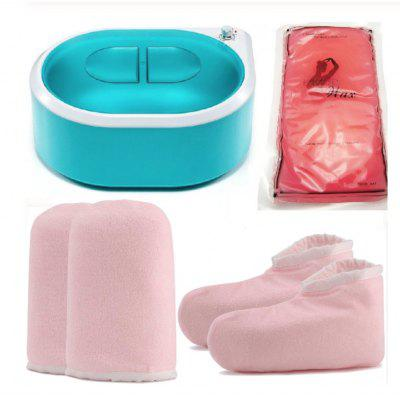 Electric Hot Wax Warmer Hair Removal  Depilatory Hard Melting Pot Heater Kit Set including Hard Wax