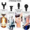 Massage Gun Cordless Rechargeable Deep Tissue Massager Portable Massage Device Massage Body