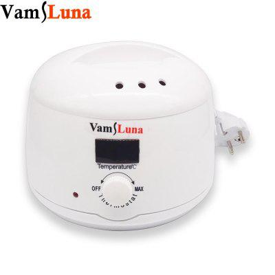 Wax Warmer Heater With 500ml Heating Pot LCD Display Hair Removal Kit For Facial and Bikini