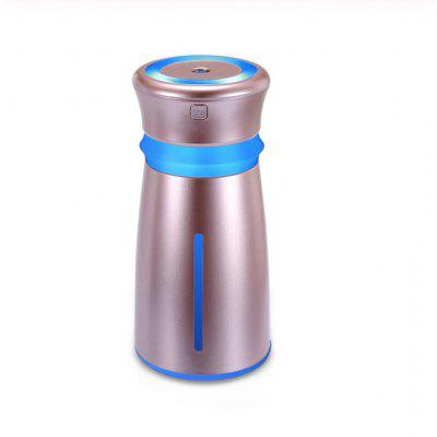 300ml Mini Ultrasonic Car Air Humidifier with LED lights USB Charging Portable Household