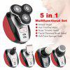 Triple Blade Electric Shaver 5 in 1 Multifunctional Body Hair Trimmer USB Rechargeable