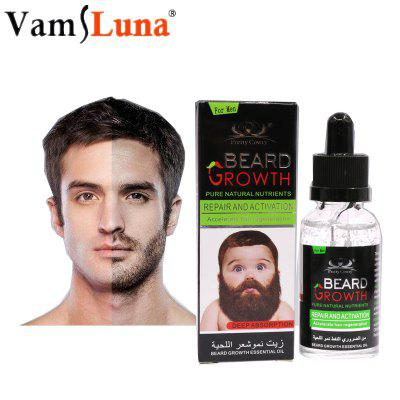 30ML Natural Organic Men Beard Growth Oil Beard Wax balm Hair Loss Products