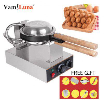 Waffle Maker Electric Pro Cookie Maker Commercial Kitchen Equipment Bubble