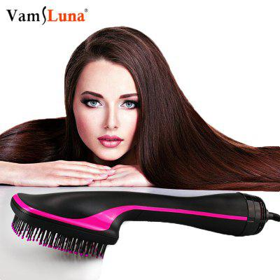 Electric Hair Straightener Paddle Brush and  Hot Air Dryer Styler Eliminate Frizzing