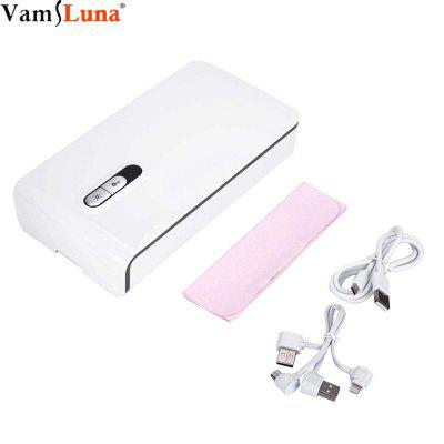 UV sterilizer Disinfection Cabinet for Mobile Phone with Lightning Charger and Aromatherapy