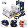 20g Ozone Generator Living Air Purifiers Ozone Disinfection Machine With Fan 220v Ozonizador
