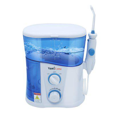 VamsLuna Water Flosser - Dental Oral Irrigator Spa With 1000ML Tank And UV Disinfection