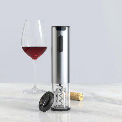 Stainless Steel Electric Wine Opener and Tin Foil Cutter USB Charge